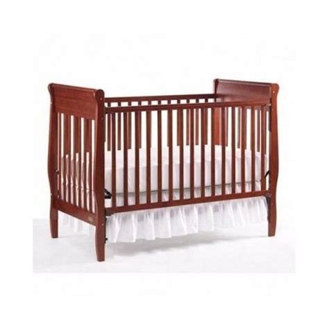 Wood Baby Cribs by New Baby Crib Wood Nursery Antique Cherry Bassinet Bed