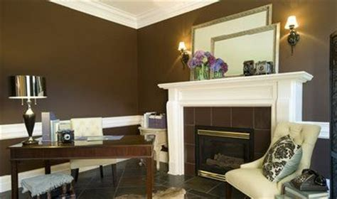 brown  white wainscoting decorating pinterest