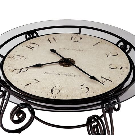 Howard Miller Coffee Table Clock Howard Miller Ravenna Coffee Table Clock 615010