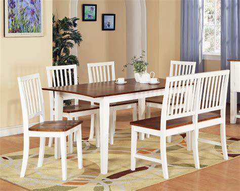 white dining room table with bench and chairs attachment white dining room table and chairs 1229