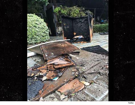 ryan seacrest house ryan seacrest s mansion catches fire tmz com