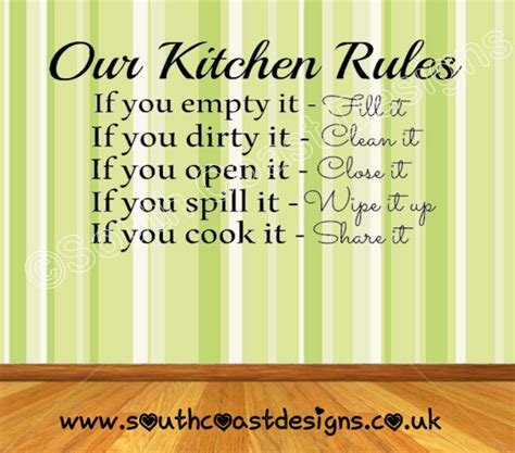 home design basic rules our kitchen rules