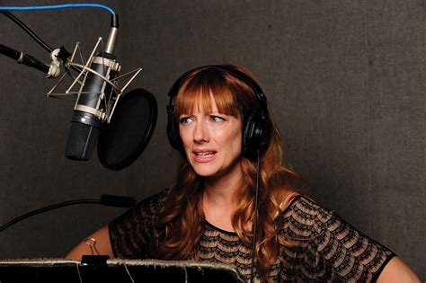 judy greer voice over interview judy greer keeps archer fresh with season 6