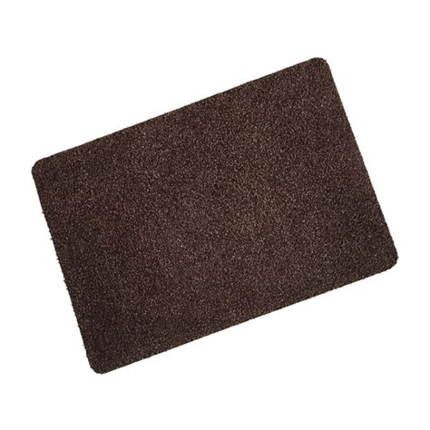 image cotton wash mat chocolate brown quality