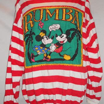 Top Mickey Rumbai vintage 80s mickey and minnie mouse rumba jeweled