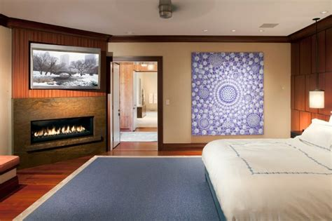 Gas Fireplace Bedroom by Bedroom With Tv And Gas Fireplace
