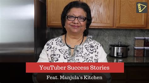 Manjula S Kitchen by Youtuber Success Stories With Manjula S Kitchen