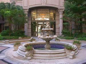 classic water fountain design for traditional home ideas