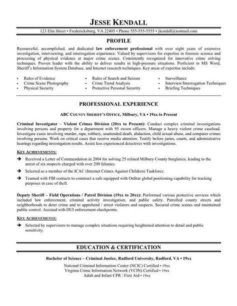 Free Resume Sles For Enforcement 25 Unique Officer Resume Ideas On Commonly Asked Questions It