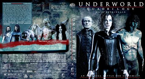 download film underworld blu ray underworld quadrilogy movie blu ray custom covers