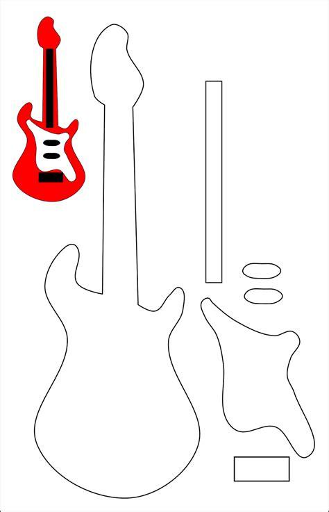 descargar imagenes rockeras gratis este es el molde de una guitarra pronto la publicare