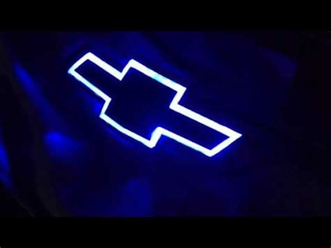 Light Up Chevy Emblem by Front Lighted Bowtie