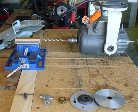 Drilling Pen Blanks With A Radial Arm Saw Ras Router
