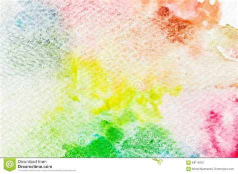colorful watercolor paint on canvas high resolution and quality background stock