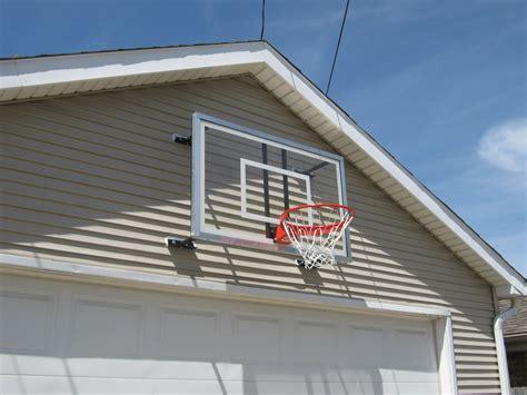 Basketball Backboard Garage Mount basketball goal service a topnotch site