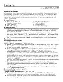 Regulatory Affairs Resume Sle by Safety Specialist Resume