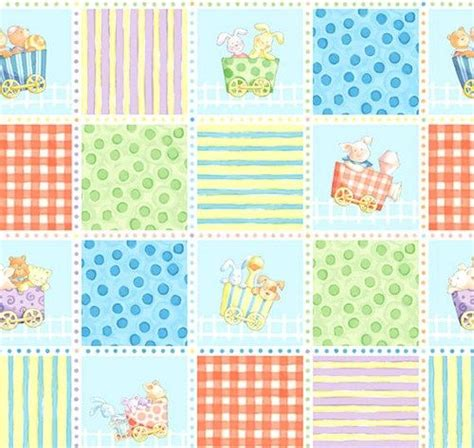 Baby Quilting Fabric by Fabric Panel Cathy Loo Baby Quilt Fabric