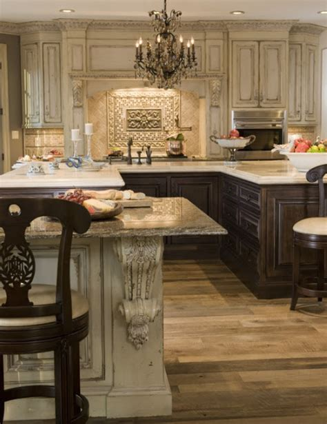 elegant kitchen cabinets the enchanted home