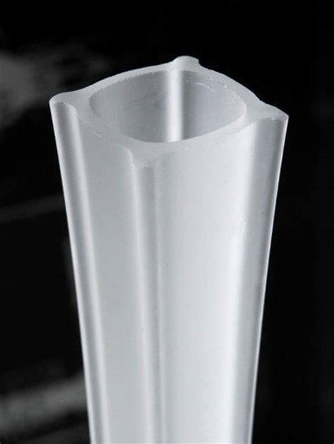 Frosted Eiffel Tower Vases by 27 Quot White Glass Eiffel Tower Vases