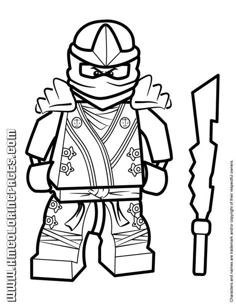lego ninjago coloring pages kai dx 24 best ninjago coloring images on pinterest lego