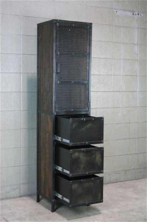 Combine 9   Industrial Furniture ? Industrial Cabinet