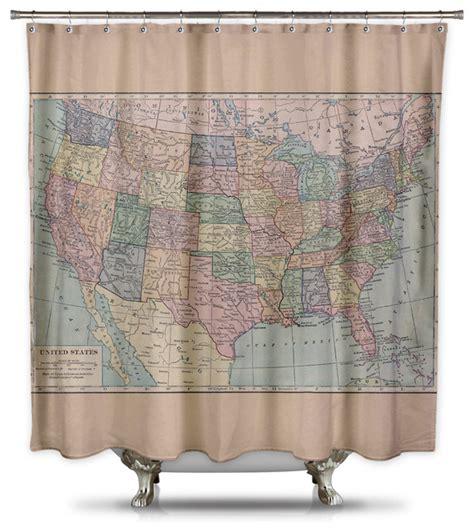 shower curtains usa usa map shower curtain my blog