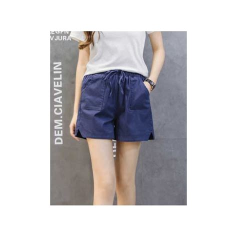 Celana Wanita Overall Pendek celana pendek wanita t3334 moro fashion