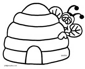 bee hive coloring pages printable coloring pages
