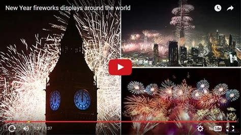 new year fireworks 2016 2016 new year fireworks displays around the world