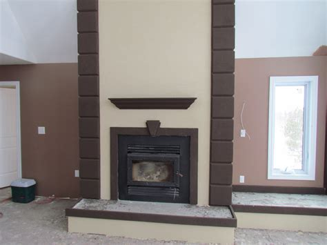 Stucco Fireplace Designs by Stucco Fireplaces Gen4congress