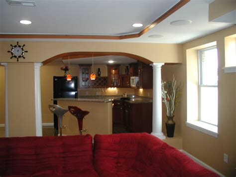 wet bars st louis basement finishing contractor