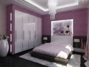 bedroom purple colour schemes modern design: designed creatively in purple this spacious bedroom has enough