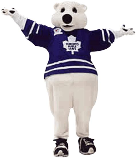 toronto maple leafs carlton the mascot
