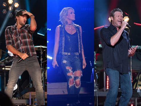 luke bryan line up cma fest reveals lineup including carrie underwood blake