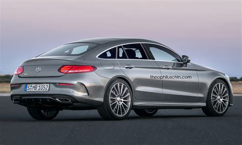 4 Door Coupe by Will Mercedes C Class Four Door Coupe Look Like This