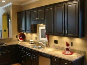 Painted Kitchen Cabinet Pictures Brown Painted Kitchen Cabinets Your Home