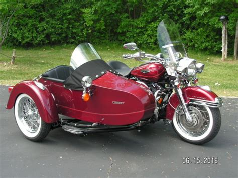 Harley Davidson Sidecar For Sale by Harley Davidson 2002 Roadking Classic With 2014 Liberty