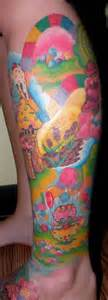 candyland tattoo candyland on nightmares www pixshark