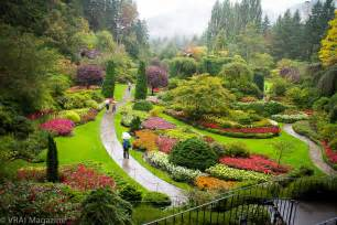 the of butchart gardens in bc