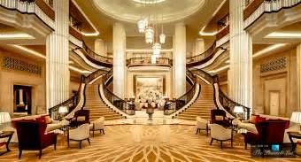 Hotel abu dhabi uae grand lobby staircase the pinnacle list