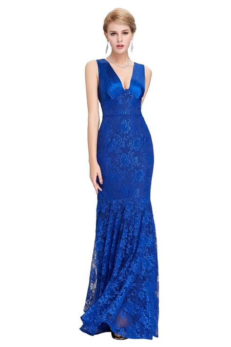 Jumpsuit Pakaian One Wanita White Royal Flower M 333226 mermaid v neck sleeveless royal blue lace evening prom dress