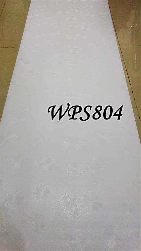 Download jual wps white polos flower tekstur wallpaper dinding
