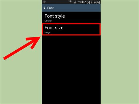how to create a text on android how to make the android text size larger 5 steps with