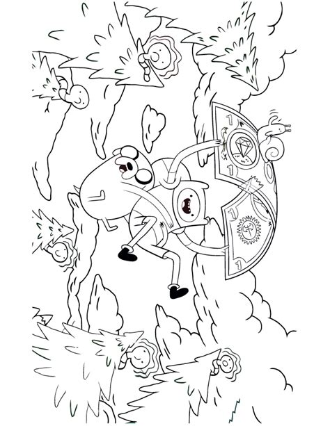 adventure time coloring pages games adventure time finn and jake parachute with money coloring
