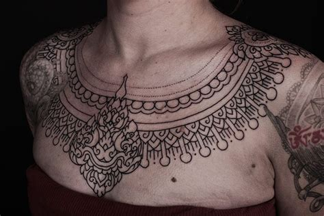 tattoo choker online india egyptian indian style tattoo necklace tattoos pinterest