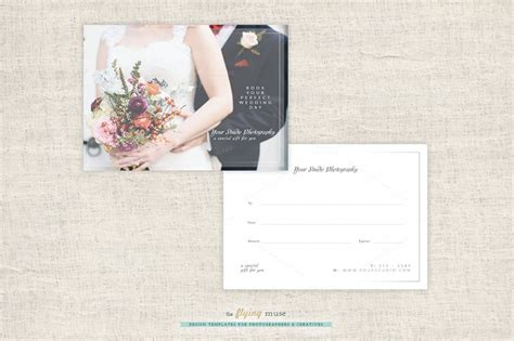 Gift Cards For Photographers - take a look at the most popular gift certificate templates