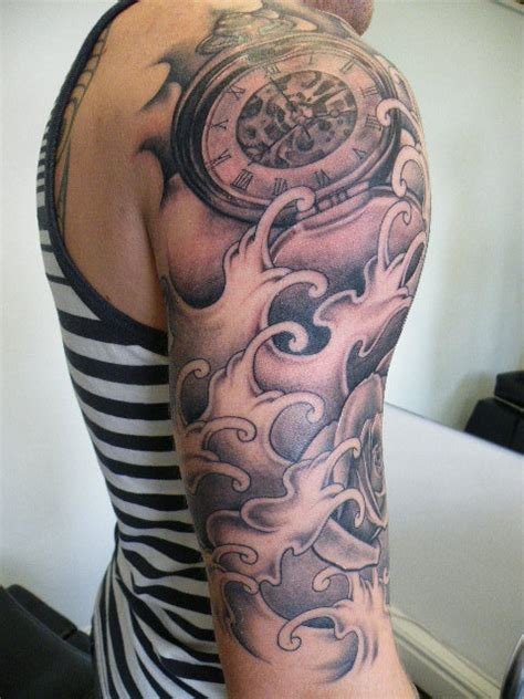 quarter sleeve tattoo designs amazing tattoo quarter sleeves google search tattoos