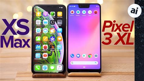 pixel  xl  iphone xs max benchmark comparison youtube