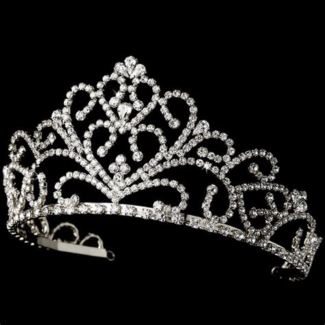 Your Majesty Silver Tiara Dt044 118 00 Bridal