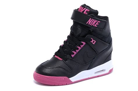 Nike Wedges Pink White nike wmns wedges air revolution sky hi shoes black and